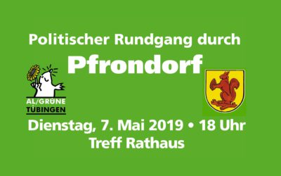 Ortsrundgang Pfrondorf @ Treffpunkt Rathaus in Pfrondord